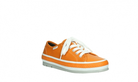 wolky lace up shoes 01230 linda 30550 orange leather_4