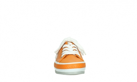 wolky lace up shoes 01230 linda 30550 orange leather_7