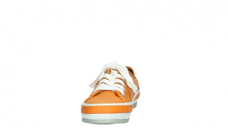 wolky lace up shoes 01230 linda 30550 orange leather_8