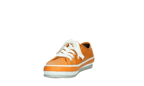 wolky lace up shoes 01230 linda 30550 orange leather_9