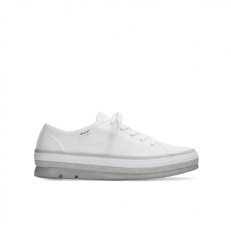 wolky lace up shoes 01230 linda 96100 white canvas