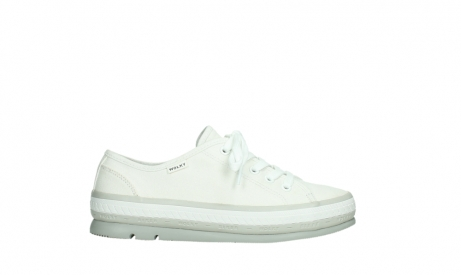 wolky lace up shoes 01230 linda 96100 white canvas_1
