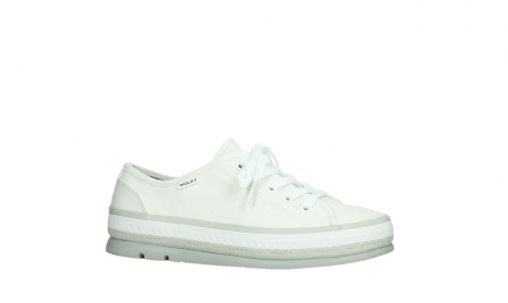 wolky lace up shoes 01230 linda 96100 white canvas_2