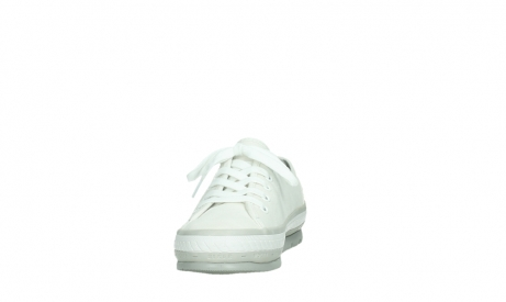 wolky lace up shoes 01230 linda 96100 white canvas_8