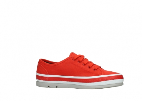 wolky lace up shoes 01230 linda 96500 red canvas_14