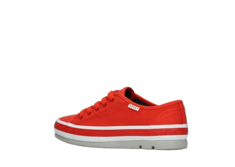 wolky lace up shoes 01230 linda 96500 red canvas_3