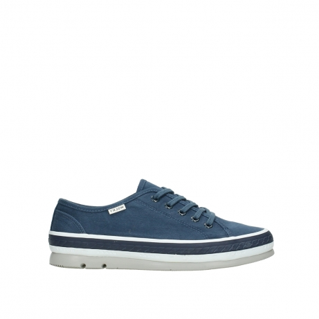 wolky lace up shoes 01230 linda 96830 navyblue canvas