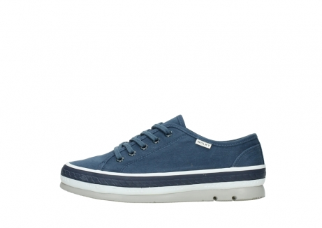 wolky lace up shoes 01230 linda 96830 navyblue canvas_1