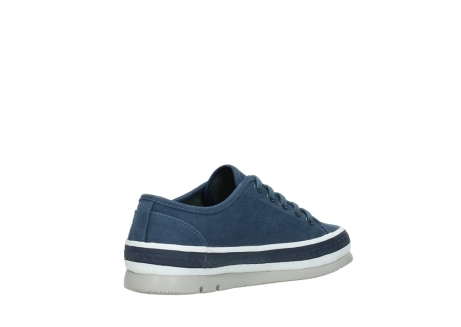 wolky lace up shoes 01230 linda 96830 navyblue canvas_10