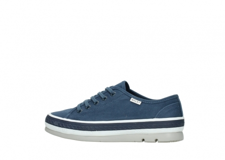 wolky lace up shoes 01230 linda 96830 navyblue canvas_2