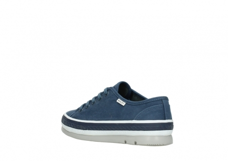 wolky lace up shoes 01230 linda 96830 navyblue canvas_4