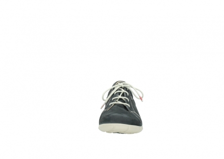 wolky lace up shoes 01510 pima 10070 black summer nubuck_19
