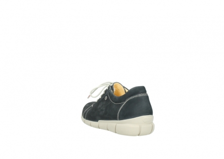 wolky lace up shoes 01510 pima 10070 black summer nubuck_5