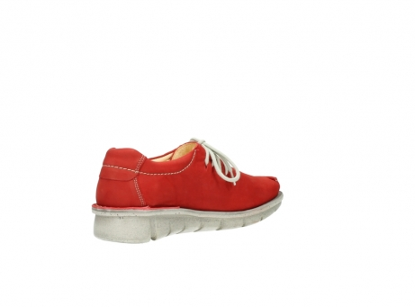wolky lace up shoes 01625 dutch 10570 red nubuck_10