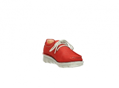wolky lace up shoes 01625 dutch 10570 red nubuck_17
