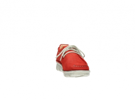 wolky lace up shoes 01625 dutch 10570 red nubuck_18