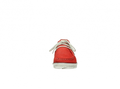 wolky lace up shoes 01625 dutch 10570 red nubuck_19