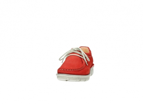 wolky lace up shoes 01625 dutch 10570 red nubuck_20