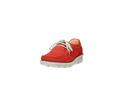 wolky lace up shoes 01625 dutch 10570 red nubuck_21