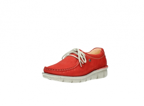 wolky lace up shoes 01625 dutch 10570 red nubuck_22