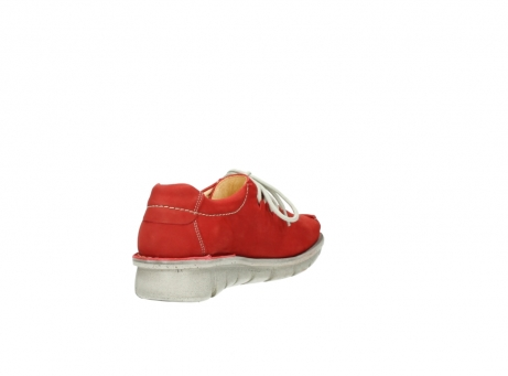 wolky lace up shoes 01625 dutch 10570 red nubuck_9