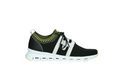 wolky lace up shoes 02052 tera 90012 black white_1