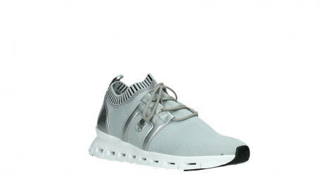 wolky lace up shoes 02052 tera 90201 silver grey leather_4