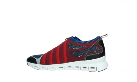 wolky lace up shoes 02054 nero 90580 red blue_14