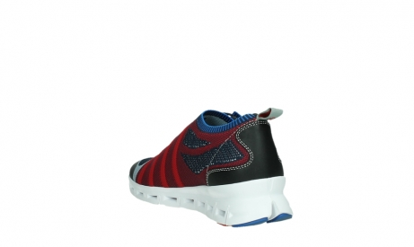 wolky lace up shoes 02054 nero 90580 red blue_17