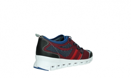 wolky lace up shoes 02054 nero 90580 red blue_22