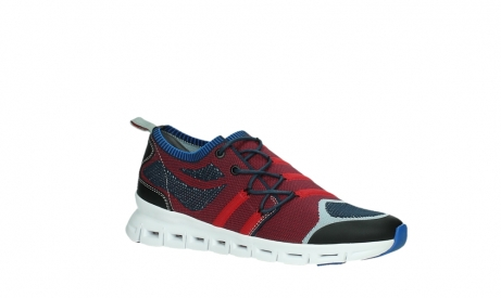 wolky lace up shoes 02054 nero 90580 red blue_3