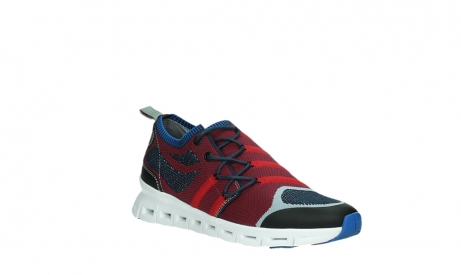 wolky lace up shoes 02054 nero 90580 red blue_4