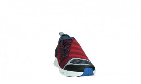 wolky lace up shoes 02054 nero 90580 red blue_6