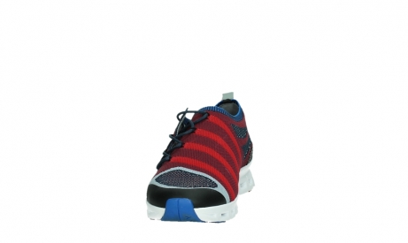wolky lace up shoes 02054 nero 90580 red blue_8