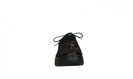 wolky lace up shoes 02325 vic 47505 red suede_7