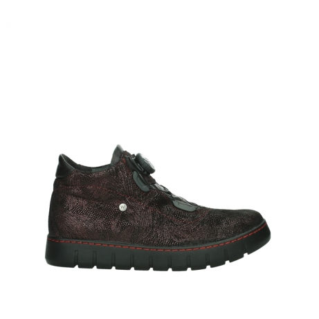 wolky lace up shoes 02326 rap 43510 bordo metal suede