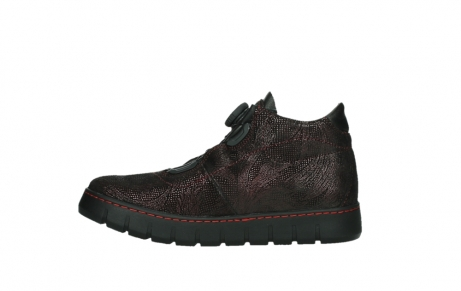 wolky lace up shoes 02326 rap 43510 bordo metal suede_13
