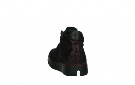 wolky lace up shoes 02326 rap 43510 bordo metal suede_18