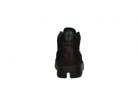 wolky lace up shoes 02326 rap 43510 bordo metal suede_19