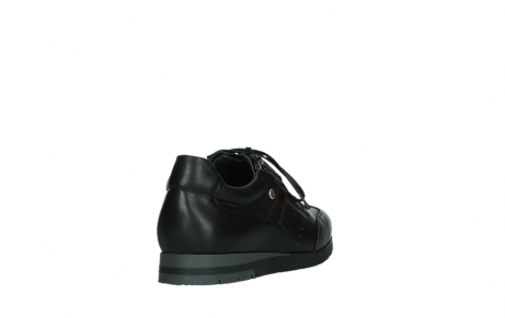 wolky lace up shoes 02525 yell 21000 black leather_21