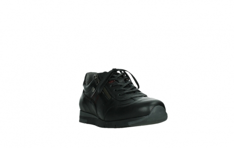wolky lace up shoes 02525 yell 21000 black leather_5