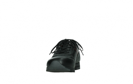 wolky lace up shoes 02525 yell 21000 black leather_8