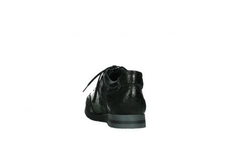 wolky lace up shoes 02525 yell 36000 shiny black leather_18