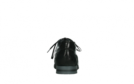 wolky lace up shoes 02525 yell 36000 shiny black leather_19