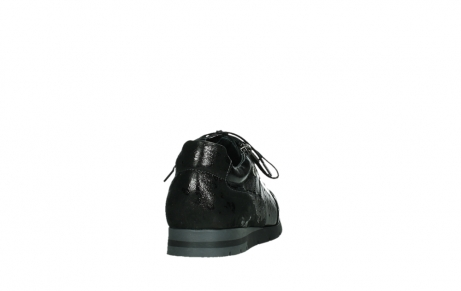 wolky lace up shoes 02525 yell 36000 shiny black leather_20