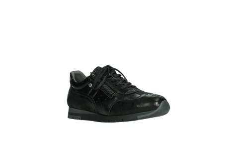 wolky lace up shoes 02525 yell 36000 shiny black leather_4