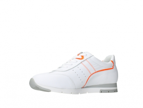 wolky lace up shoes 02526 yell xw 20105 white orange leather_11