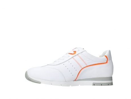 wolky lace up shoes 02526 yell xw 20105 white orange leather_12