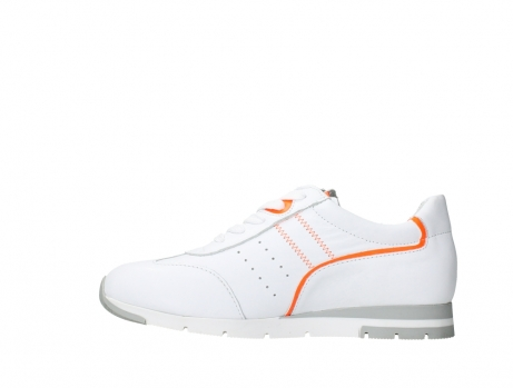 wolky lace up shoes 02526 yell xw 20105 white orange leather_13