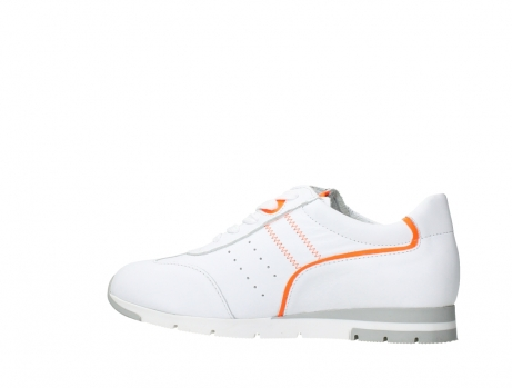 wolky lace up shoes 02526 yell xw 20105 white orange leather_14